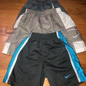 NIKE short bundle. All size 2T boy